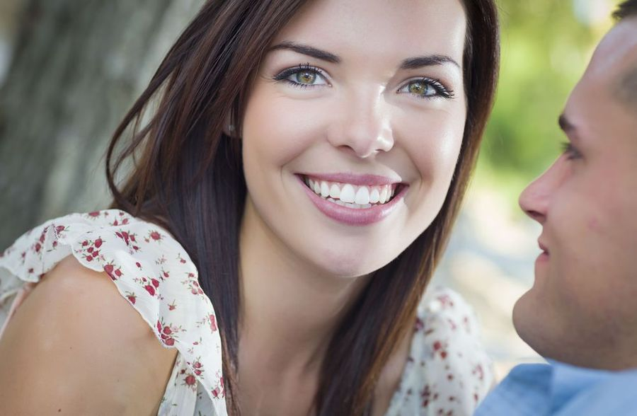 image of smiling people who have receiving cosmetic dentistry