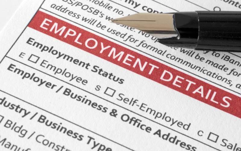 Employee exemptions paperwork
