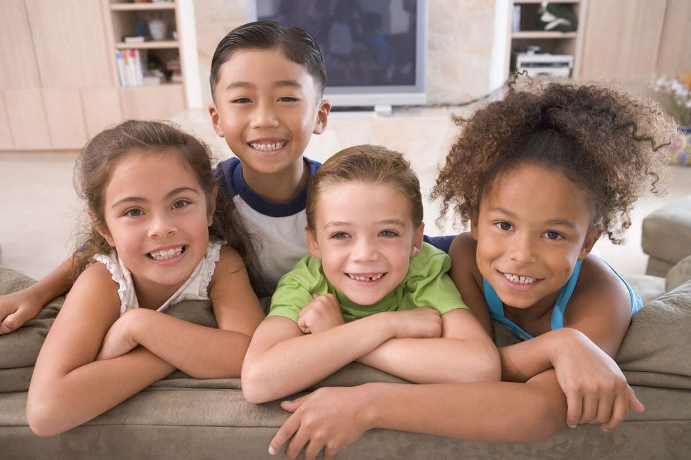 kids with healthy smiles
