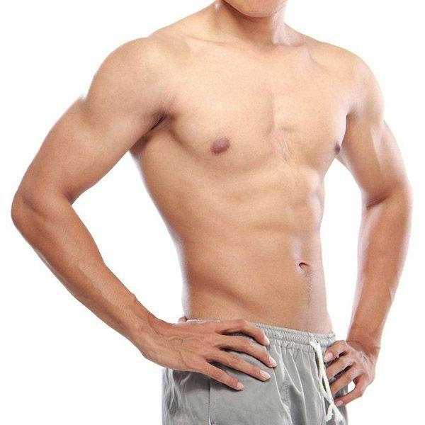 Man's fit torso