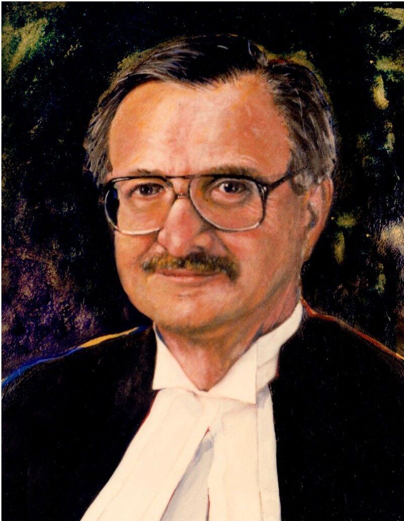 Portrait of John Sopinka.