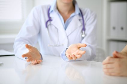 image of discussion with doctor