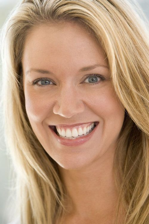 Woman with attractive smile