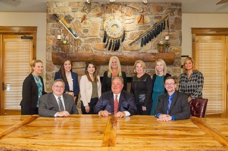 Group photo of staff at Rocky Walton Injury Lawyers.