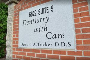 The office of Donald A. Tucker, DDS.