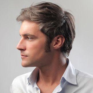 man's profile